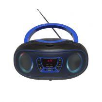 Revenda Rádio Cassette / CD - Radio CD Denver TCL-212BT blue