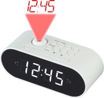 Revenda Relógios/Despertadores - Despertador Denver CRP-717 branco