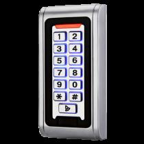 Revenda Acessórios Controlo Acesso - Leitor acessos autónomo Acesso cartão EM e/ou password Teclado, carcaç