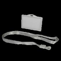 Comprar Acessórios Controlo Acesso - Porta-cartão para cartões RFID Formato CR80 Cordão incluído
