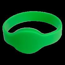 Comprar Acessórios Controlo Acesso - Pulseira proximidade radiofrequência Silicone cor verde Baixa frequênc