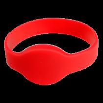 Comprar Acessórios Controlo Acesso - Pulseira proximidade radiofrequência Silicone cor vermelha Baixa frequ