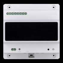 Revenda Videoporteiro - X-Security Conversor 2 fios à IP 4 grupos portas 2 fios Conexão TCP/IP
