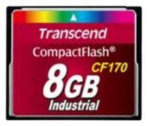Revenda Compact Flash - Transcend 8GB CompactFlash Cartão memória   Read: 90 MB/s, Write: 25 M