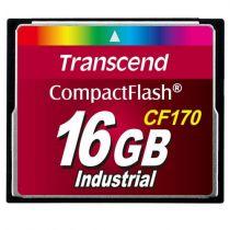 Revenda Compact Flash - Transcend CF170 16GB Cartão memória | Read: 90 MB/s, Write: 25 MB/s