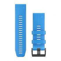 Revenda Acessórios Garmin - Garmin Banda QuickFit® 26 Cyan Azul Silicone
