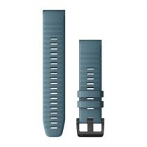 Revenda Acessórios Garmin - Garmin Banda QuickFit 22mm Silicone azul /Cinza