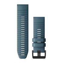 Revenda Acessórios Garmin - Garmin Banda QuickFit 26mm Silicone azul /Cinza