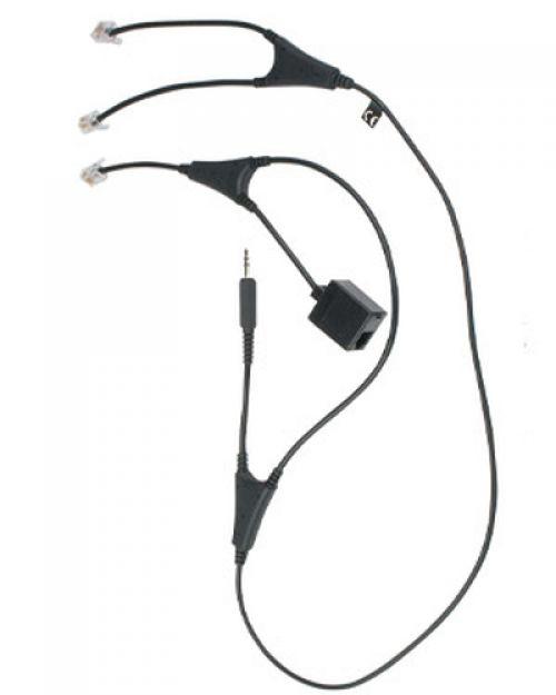 Comprar  - JABRA MSH-Adaptador Cabo para GN Pro™94xx/920/GO™64xx (angulados)