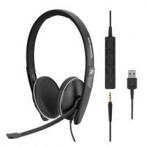 Auriculari - Auricolare Sennheiser SC 165 USB
