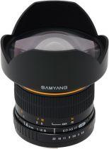 Revenda Objectivas p/ Nikon - Objetiva Samyang F 2,8/14 ED AS IF UMC Nikon AE