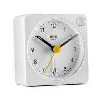 Orologi da muro - Braun BC 02 XW quartz alarm white + light switch