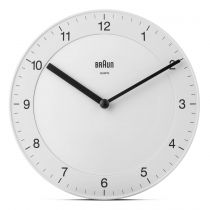 Orologi da muro - Braun BC 06 W Quartz wall clock analog white