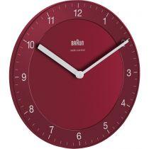 Orologi da muro - Braun BC 06 R-DCF radio wall clock red