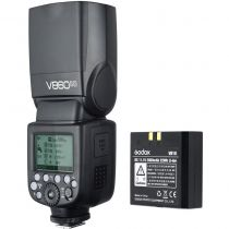 Revenda Flash outras marcas - Flash Godox V860II-O Kit flash unit para MFT