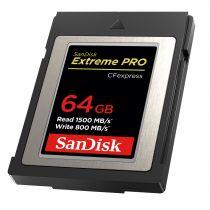 Altre schede di memoria - Cartão Memória SanDisk CF Express Type 2  64GB Extreme Pro