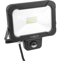 Luci decorative - Ansmann WFL1600S 20W/1600lm LED spotlight w. Motion Detector