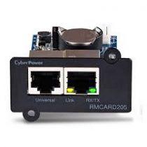 Scheda rete - Placa Reti CyberPower SNMP remote management card RMCARD205