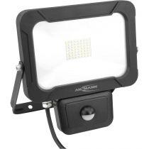 Luci decorative - Ansmann WFL2400s 30W/2400lm LED spotlight w. Motion Detector