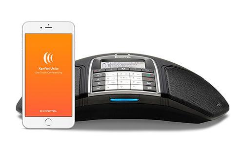 Comprar  - Konftel 300IPx Telefone Conferência preto PoE, SIP, NFC VoIP (SIP) Cab