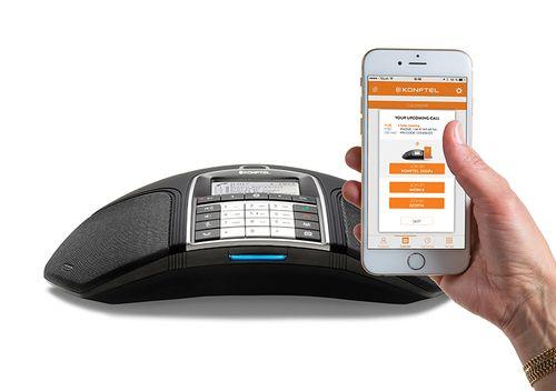 Konftel 300IPx Telefone Conferência preto PoE, SIP, NFC VoIP (SIP) Cab