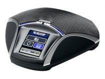 Revenda Telefones Audioconferência - Konftel 55 Telefone Conferência preto/silber Analog, VoIP (H.323) Cabl