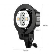 Revenda Iluminação Estúdio - Godox AD-B2 Twin head para AD200 Pro
