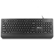 Tastiera - NGS Round Keys Keyboard With Palm Rest