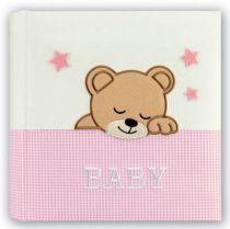 Revenda Arquivos Fotografia - Album Foto ZEP Elisa pink             24x24 20 Seiten Babyalbum     DL