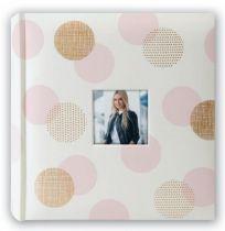 File Fotografici - Album Foto ZEP Elena gold/pink        24x24 20 Seiten Fotoal