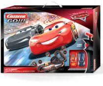 Revenda Pistas e circuitos eléctricos - Pista carros Carrera GO!!! Disney Pixar Cars - Let´s Race! Carrera GO!
