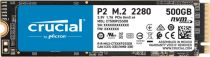 SSD - SSD Interno Crucial P2 500GB 3D NAND NVME PCIe M.2 SSD