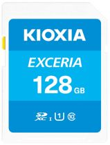 Revenda Secure Digital SD - Cartão Memória Kioxia Exceria SDXC 128GB Class 10 UHS-1