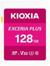 Revenda Secure Digital SD - Cartão Memória Kioxia Exceria Plus SDXC 128GB Class 10 UHS-1 U3