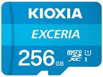 Revenda Micro SD / TransFlash - Cartão Memória Kioxia Exceria microSDXC 256GB Class 10 UHS-1