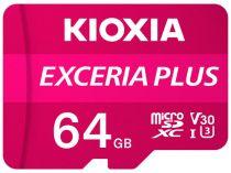 Revenda Micro SD / TransFlash - Cartão Memória Kioxia Exceria Plus microSDXC 64GB Class 10 UHS-1 U3