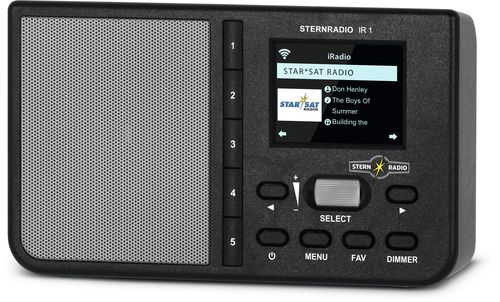 Rádio para Internet Technisat Sternradio IR preto