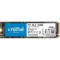 Revenda Discos SSD - SSD Interno Crucial P2 1TB 3D NAND NVME PCIe M.2 SSD
