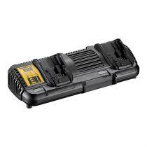 Revenda Carregadores Ferramentas - DeWALT Carregador duplo DCB132 Preto para baterias FlexV e baterias de