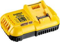 Revenda Carregadores Ferramentas - DeWALT Carregador rápido DCB118 yellow/black para baterias FlexV e bat