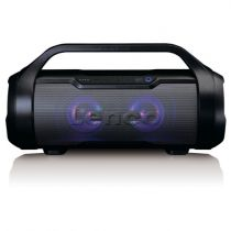 Revenda Rádio Cassette / CD - Radio CD Lenco SPR-070 preto