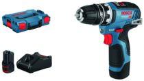 Revenda Aparafusadoras - Bosch Aparafusadora sem fios GSR 12V-35 FC Professional 12V azul/black