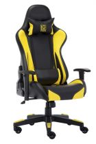 Sedia per Gaming - LC-POWER Cadeira Gaming LC-Power LC-GC-600BY black/yellow