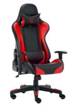 Sedia per Gaming - LC-POWER Cadeira Gaming LC-Power LC-GC-600BR black/red