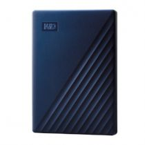 Hard disk esterni - Disco externo WD 6.3cm 5.0TB USB3.0 MyPassport for Mac Blue