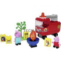 Revenda Outros brinquedos / jogos - BIG PlayBIG Bloxx Porquinha Peppa Feuerwehrauto