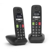 Comprar Telefones DECT sem Fios - Telefone sem-fios Gigaset E290 Duo preto