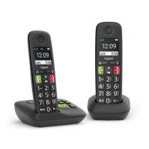 Comprar Telefones DECT sem Fios - Telefone sem-fios Gigaset E290 A Duo preto