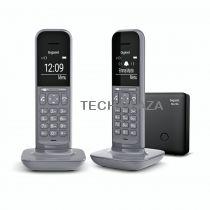 Comprar Telefones DECT sem Fios - Telefone sem-fios Gigaset CL390 A Duo Dark Grey