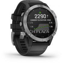 Revenda GPS Montanhismo Portátil - Relógio desporto Garmin fenix 6 Solar silver/black